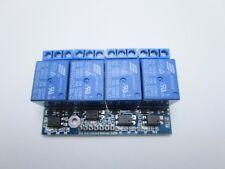 Scheda relè 5v 4 canali optoisolati carichi fino 250V 10A per Arduino Raspberry