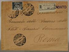 POSTA MILITARE 13a DIVISIONE 1.3.1916 (20 CENT MICHETTI SU 15 CENT) #XP260O