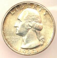 1932-S Washington Quarter 25C - ICG AU58 - Rare Key Date Certified Coin!
