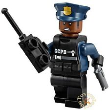 LEGO THE BATMAN MOVIE MINIFIGURA GCPD OFFICER MODEL I SET 70915 ORIGINAL MINIFIG