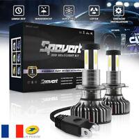 Phare de voiture LED H7 Globes COB Ampoule 110W 30000LM 6000K Blanc Sans erreur
