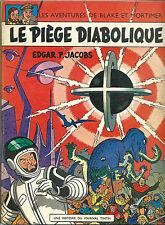 RARE EO 1967 EDGAR PIERRE JACOBS + BLAKE ET MORTIMER : LE PIÈGE DIABOLIQUE