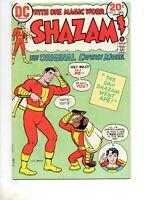 Shazam #9 Higher Grade VF- 7.5 DC 1974! MR. MIND APP! Monkey Cover C.C. Beck Art