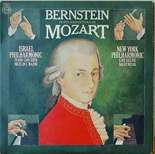 BERNSTEIN PLAYS/CONDS. MOZART: Piano Concerto 25/Eine Kleine...M1978LP ISRAEL/NY