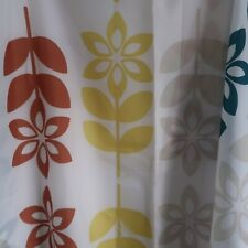 DUNELM MILL SHOWER CURTAIN 70X70 INCHES