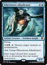 ETHERSWORN ADJUDICATOR Commander 2016 MTG Blue Creature — Knight Mythic Rare