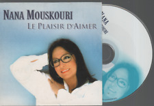 Nana Mouskouri Le Plaisir D'aimer Cd Promo RTL