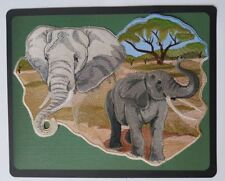 """Elephant Spirit Embroidered Patch Approx Size 11""""x 8.4"""""""