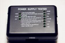 Computer PC Tester LCD per alimentatori Checker 20/24 Pin SATA HARD DRIVE DISC