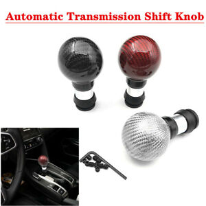 Motors Carbon Fiber Automatic Shift Lever Knob Automobile Gearbox Shift Knob