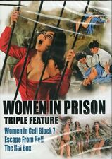 Women In Prison Triple DVD Women in Cell Block 7 Escape From Hell Hot Box