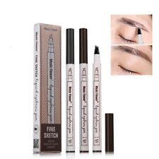 Eyebrow Pen Color Music Flower Makeup Fine Sketch Liquid Waterproof Eye Make Up