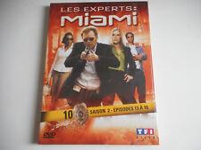 DVD NEUF - LES EXPERTS : MIAMI N° 10 / SAISON 2 / EPISODES 13 à 16