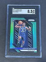 2018 Panini Prizm Green Refractor SGC 8.5 Aaron Holiday RC Low POP Rookie PSA ?