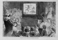 MAGIC LANTERN PUNCH AND JUDY CHILDRENS CHRISTMAS AMUSEMENTS THE SHADOW DANCE
