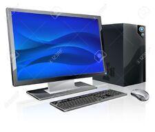 POSTAZIONE COMPLETA PC DUAL CORE 4GB RAM WIN 10 + MONITOR 19 + TASTIERA E MOUSE