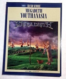 MEGADETH YOUTHANASIA BAND SCORE JAPAN GUITAR TAB