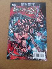 Wolverine Origins 36 . Dark Reign . Marvel 2009 . VF