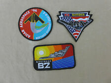 3x distintivo Patch USAF Northrop Grumman b2 Bomber