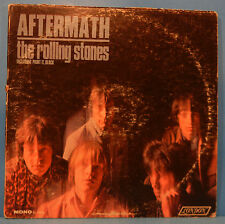 ROLLING STONES AFTERMATH LP 1966 MONO ORIGINAL MIS-LABELED NICE COND! VG/VG!!B