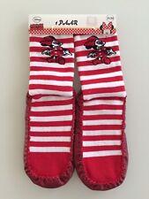 Disney Minnie Maus Hüttenschuhe 31 - 34 Hausschuhe Mädchen Stopper Socken 32 33