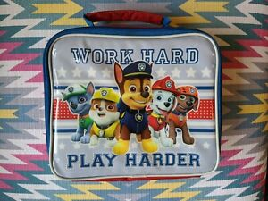 Paw Patrol Packed Lunch Bag