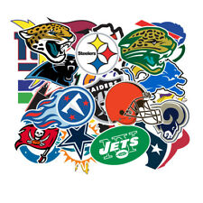 32 NFL Teams Logo Decal Vinyl Stickers for Truck/Skateboard/Luggage/Laptop/Party
