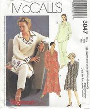DRESS, TUNIC TOP, PANTS Women's 22W-28W McCall's 3047 UNCUT Sewing Pattern ©2000