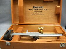 Starrett 254 Master Vernier Height Gage
