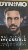 DYNAMO HAND SIGNED AUTOGRAPH NOTHING IS IMPOSSIBLE BOOK MAGICIAN TV