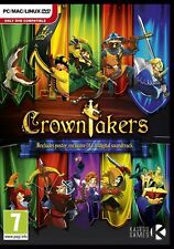 CROWNTAKERS  EMBARK ON A QUEST FOR GLORY.BRAND NEW PC DVD. SHIPS FAST/SHIPS FREE
