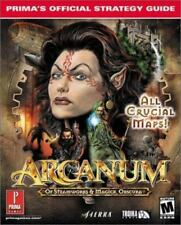 Prima's Official Strategy Guides: Arcanum: Of Steamworks and Magick Obscura NEW