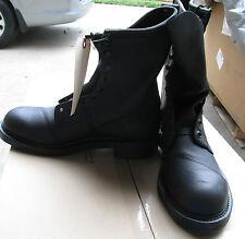 "USGI Safety Non Spark Black COMBAT BOOTS Steel Toe NIB 10"" Size 4 Narrow"