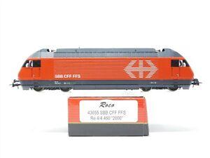 HO Scale Roco 43655 SBB Swiss Federal Railways Electric Locomotive #2000