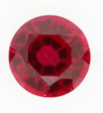 Eye Clean Round Loose Rubies