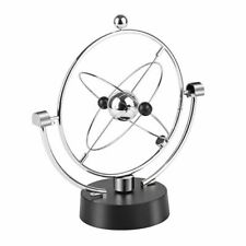 Globe Rotation Motion Instrument Magnetic Ornament Newton Pendulum Model Office