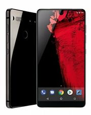 "Essential Phone 128 GB Unlocked with Full Display, Dual Camera"" Black Moon"