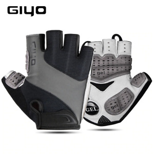 Bicycle Gloves Half Finger  Sports Gloves for Men Women Gel Pad Breathable MTB