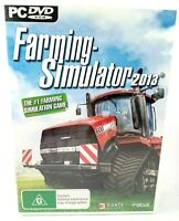 Farming Simulator 2013 PC DVD ROM Game Win XP/Vista/7/8 Rated G
