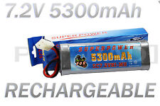 PACK BATTERIE 7.2V 5300MAH ACCU BATTERY RECHARGEABLE TAMIYA RC GRANDE CAPACITE