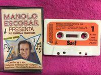 MANOLO ESCOBAR CINTA CASSETTE SUS PRIMERAS CANCIONES CASTILLOS EN EL AIRE ..