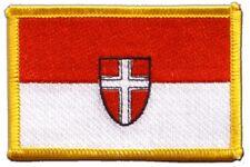 Österreich Wien Aufnäher Flaggen Fahnen Patch Aufbügler 8x6cm