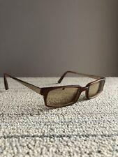 f2e688705b9 Jhane Barnes Eye Glasses Eyeglasses Frames Japan 52-20-140 Gold Brown