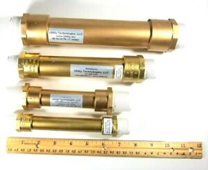 """Water Meter Idler/Spacer Tube for 5/8"""", 5/8 x 3/4, 3/4"""", and 1"""" meters w/Gaskets"""