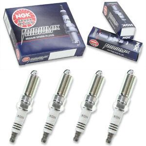 4 pcs NGK Iridium IX Spark Plugs for 2011-2015 Ford Fiesta 1.6L  1.6L L4 - vt