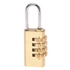Candado de combinacion reajustable cerradura de viaje de bolsa de 4 digitos Q4Q2