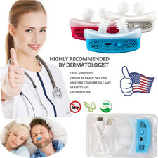 US MiCPAP Anti Snoring Device for Sleep Apnea Stop Snore Aid Stopper Electronic