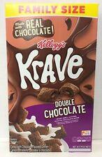 Krave Double Chocolate Cereal 16.7oz Kellogg's