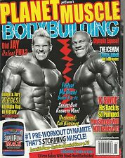 JAN 2011 PLANET MUSCLE vintage body building magazine MR OLYMPIA EXPOSE