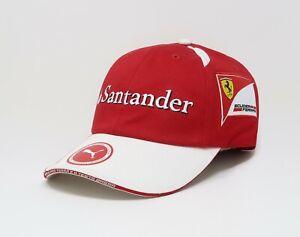 PUMA Men's Hat Ferrari Replica Team Adjustable Santander Rosso Corsa Cap